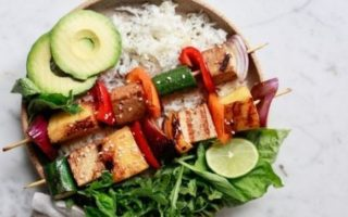 recettes de barbecue végétarien